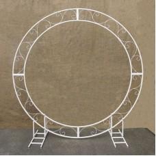 Circle wedding arch - metal frame 83″