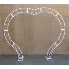 Wedding arch Heart