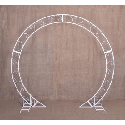 """Ceremory - round wedding arch 91"""""""
